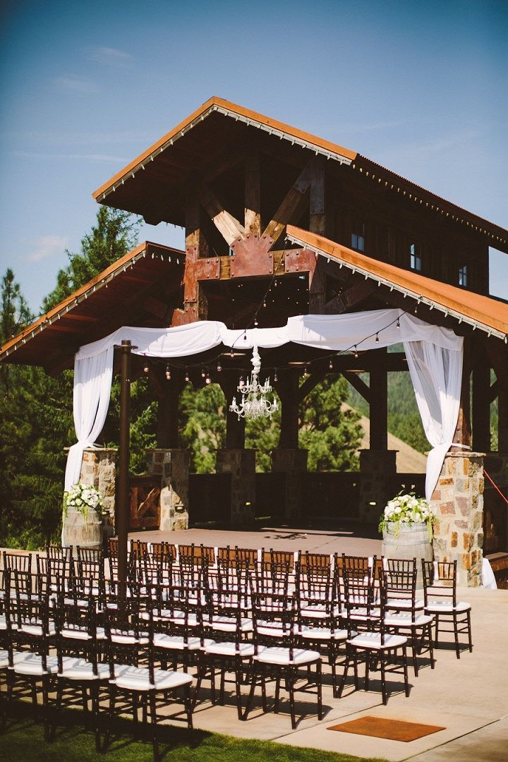 wedding venues on budget los angeles%0A Jennifer and Dustin u    s Navy Blue and Blush Washington State Winery Wedding