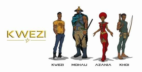 FEATURE: South African Superheroes - 'Kwezi', the new comic book from artist Loyiso Mkize - AFROPUNK