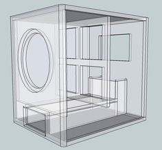 subwoofer box design for 15 inch - Google Search
