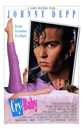"""Cry-Baby - Directed by John Waters. I worked on this film as an extra and had my """"15 minutes of fame"""" when I got beat up by punk-rock legend Iggy Pop."""