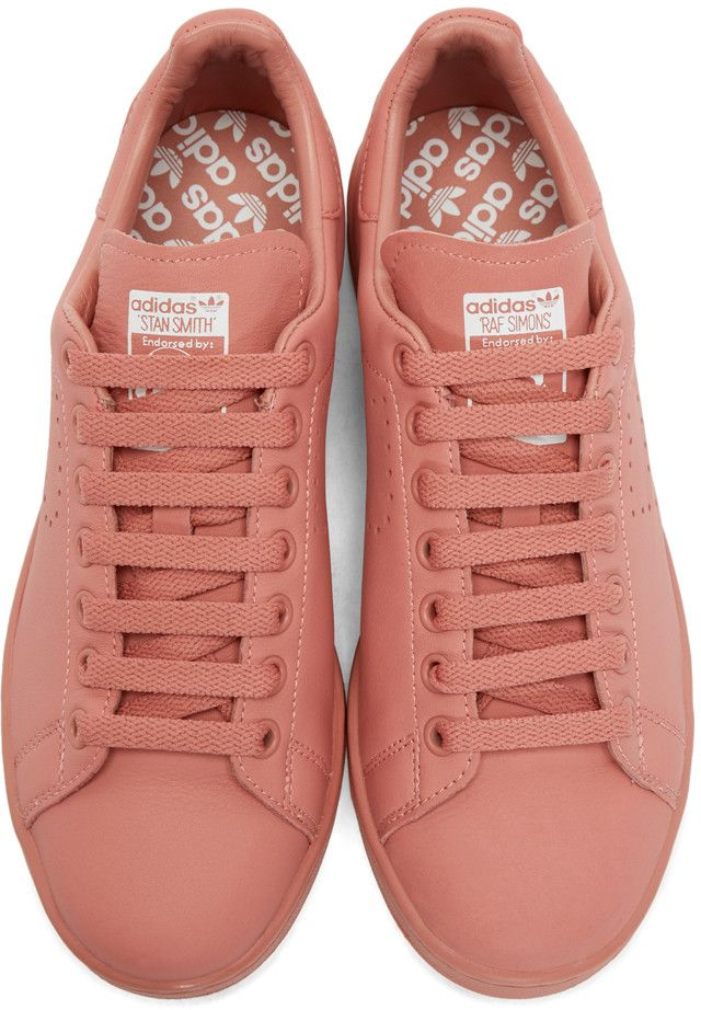 best website 37644 4b086 Raf Simons - Pink Stan Smith adidas by RAF SIMONS Sneakers   Shoes    Pinterest