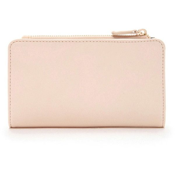 Forever 21 Classic Faux Leather Wallet (17 CAD) ❤ liked on Polyvore featuring bags, wallets, forever 21 bags, pink wallet, forever 21, credit card holder wallet and forever 21 wallets
