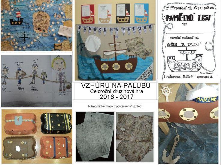 Vzhůru na palubu - celoroční družinová hra 2016 - 2017