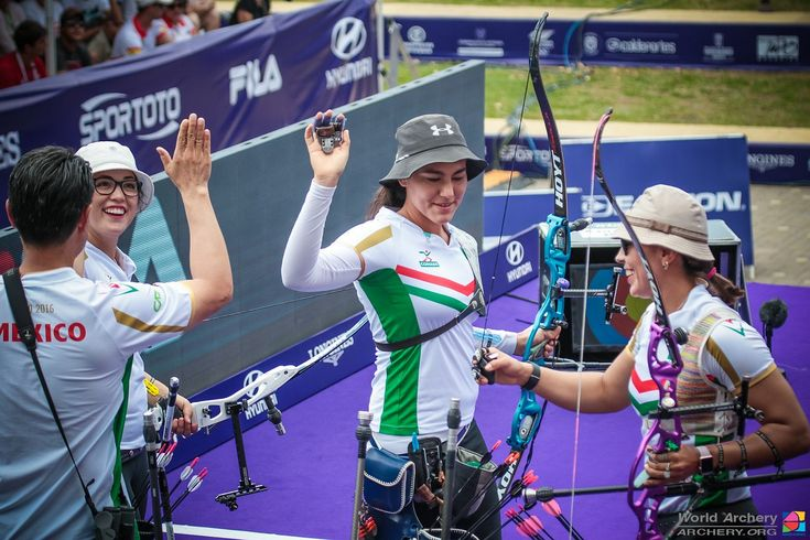 Mexico announces women's team for Rio 2016. #archery