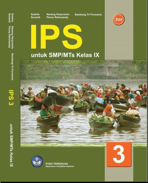 Ebook: Baca Buku Gratis IPS SMP atau MTs Kelas 9