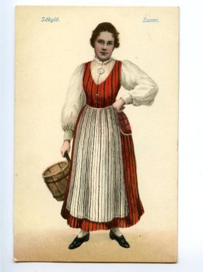 Traditional Dress, Säkylä, Satakunta