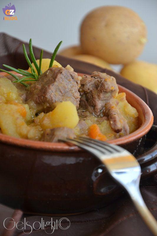 Spezzatino con patate, ricetta classica