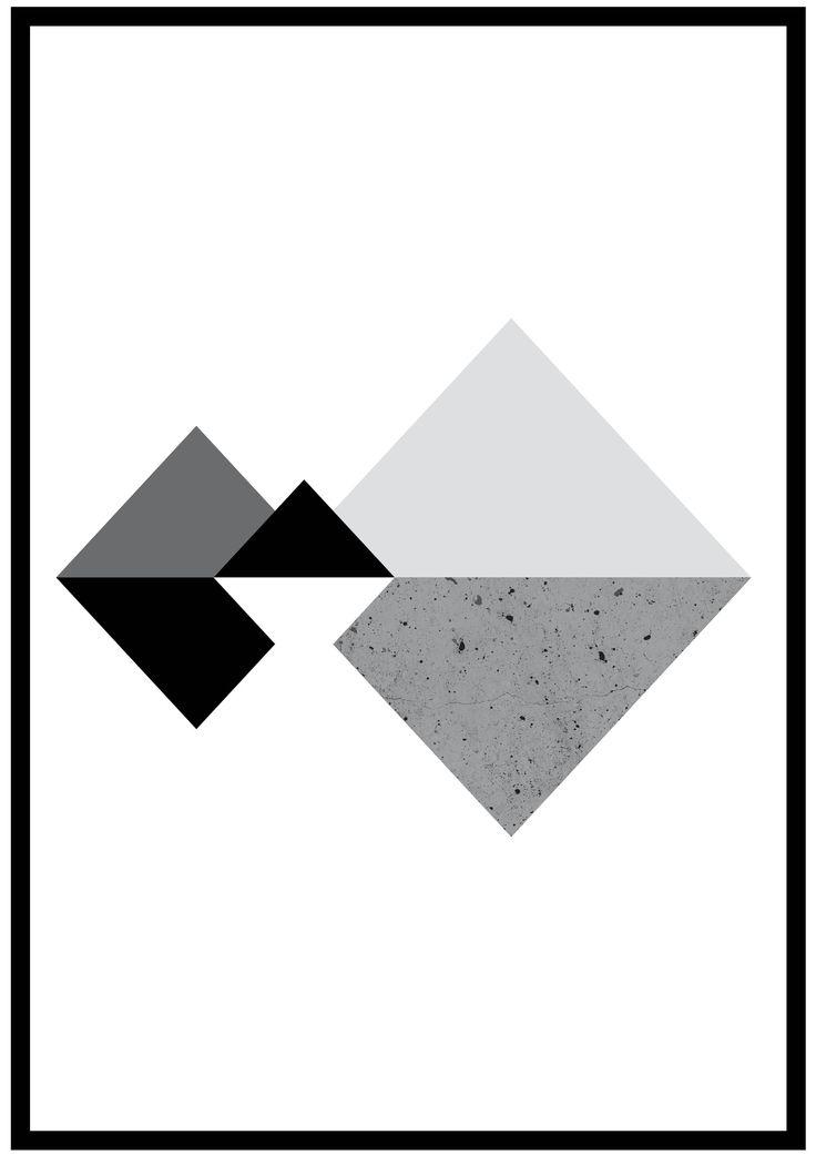 #contagiousdesignz   #concrete #texture #black #white #prints #design #diamond #grey