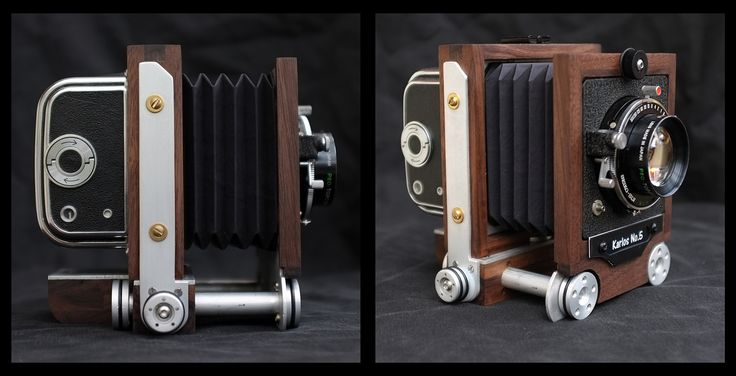 Interesting Diy 6x6 Camera Design. The pinhole lensboard changes the focusing mechanism to adjust focal length! https://www.flickr.com/photos/g-a-p/8726954902/in/photostream/lightbox/