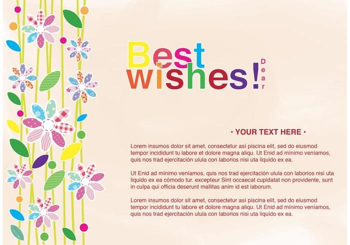 Best Wishes Card Templates 9 Free Printable Word Pdf Best Wishes Card Card Templates Cards