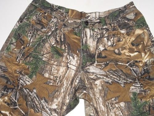 Wrangler Pro Gear Women's  Real Tree Camouflage Hunting Pants Size 12x32 #Wrangler