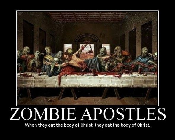 But wasn't Jesus a zombie too..?