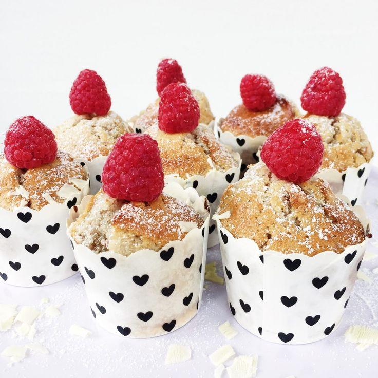 Hindbærmuffins