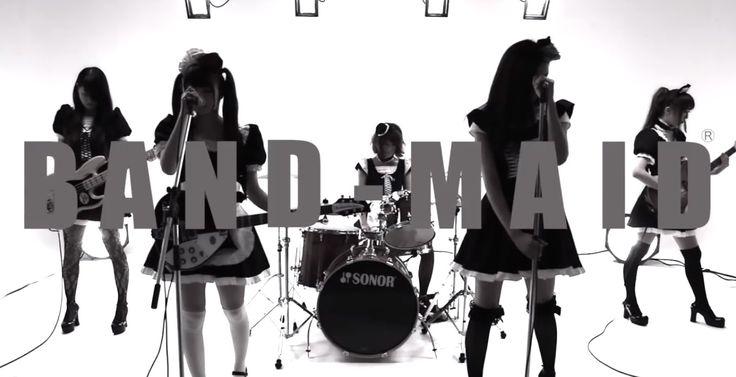 BAND-MAID / Thrill(スリル)   1st Single『愛と情熱のマタドール』、2nd mini album『New Beginning』より BAND-MAID®の真骨頂とも言えるハードロック・ナンバー『Thrill(スリル)』のMV