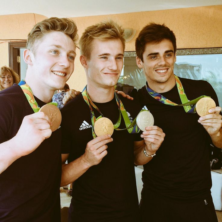 Nile Wilson, Jack Laugher, Chris Mears