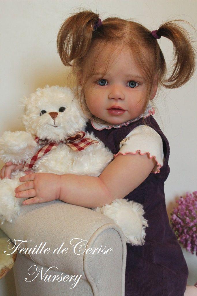 Feuille de Cerise Nursery - reborn toddler girl Lilly Kit by Regina Swialkowski