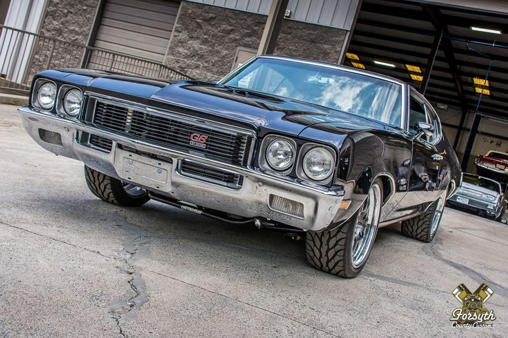 The Coolest 1972 Buick GS Stage 1