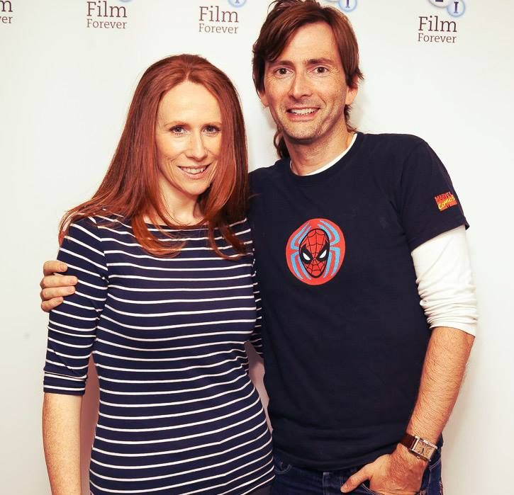 PHOTO OF THE DAY - 14th November 2016: David Tennant & Catherine Tate at the BFI Doctor Who Tenth Doctor screening (2013)