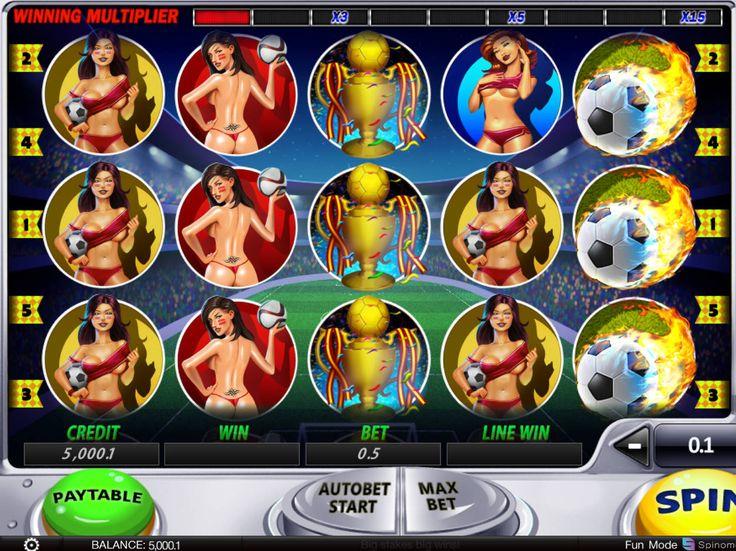 Drehe jetzt absolut kostenlos Spielautomat Soccer Babes - http://freeslots77.com/de/soccer-babes/