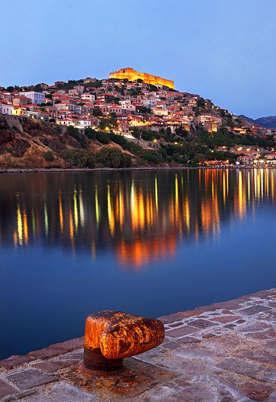 Molyvos, Lesbos, Greece.I want to go see this place one day.Please check out my…