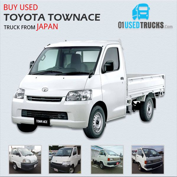 Japanese Used Toyota Townace Trucks Ready to Export. Price Starts From: 1,000 US$ only. #usedtrucks #forsale #automobile