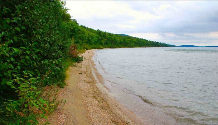1.37 acre building lot with 295` of sandy and pebbles beach  with gorgeous rocky point on North Channel of Lake Huron ...  surrounded on 3 sides by 18,000 acres of LaCloche provincial park ...  jewels like this lakefront building lot are rarely, if ever, offered for sale ...  North Channel offers world class sailing ...  hunting is allowed in the park according to MNR ...  strong cellular signal  Property taxes $700. Asking price $549k open for offers ...  youtube.com/watch?v=IyDI29-D9r4
