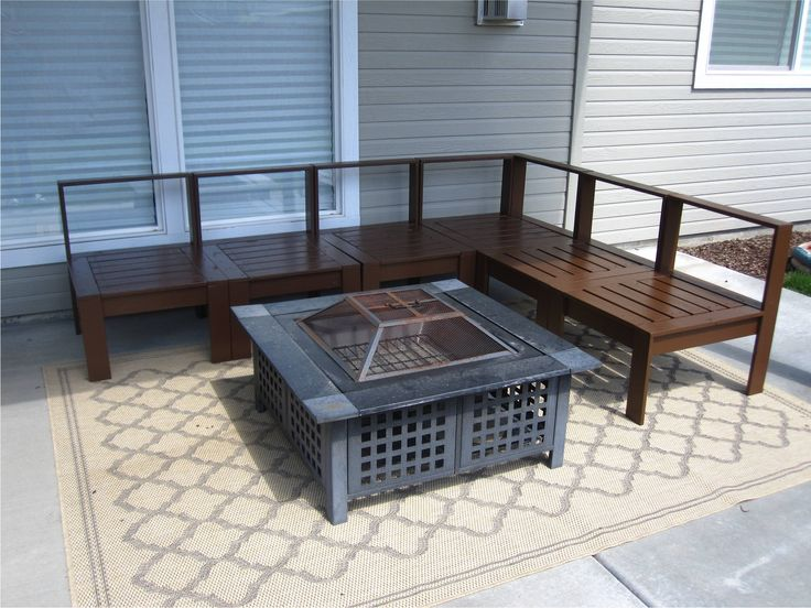 find this pin and more on outdoor furniture making - Easy Garden Furniture To Make