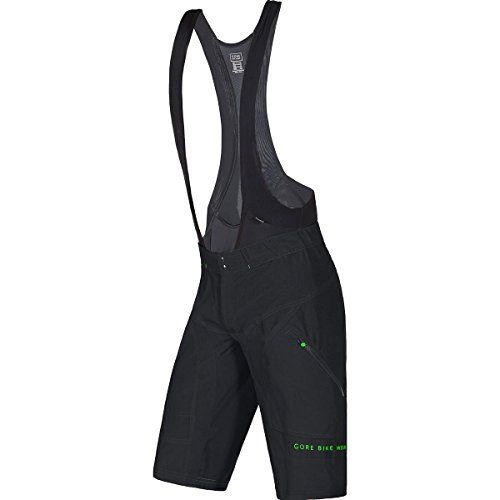GORE BIKE WEAR Mens 2 in 1 Padded mountain bike Bib tights and Shorts Compression GORE Selected Fabrics POWER TRAIL Shorts Size XL Black TSPOTR -- Click on the image for additional details.(This is an Amazon affiliate link and I receive a commission for the sales)