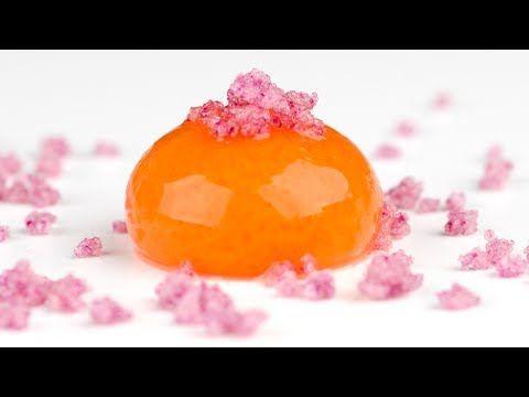 Molecular Gastronomy: Frozen Reverse Spherification to Make Spheres with Liquid Inside