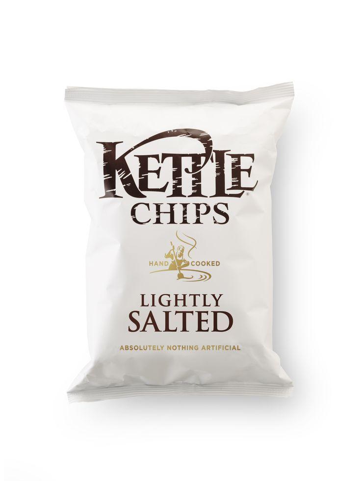 Kettle Lightly Salted. Designed by Turner Duckworth.