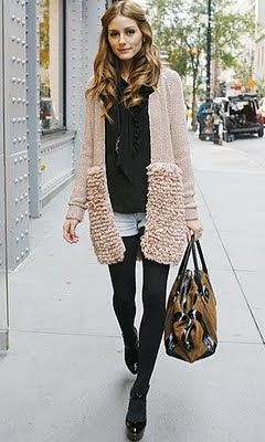 Love that sweater.
