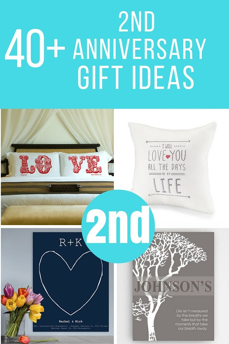 Lots Of 2nd Anniversary Gifts To Help You Find The Perfect