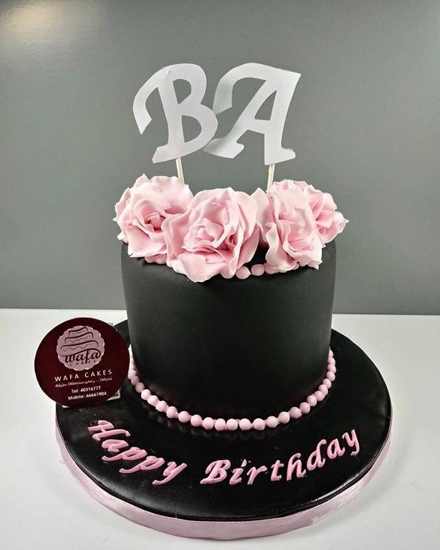 A Simple Yet Elegant Design Do You Agree Cakeart Blackcake