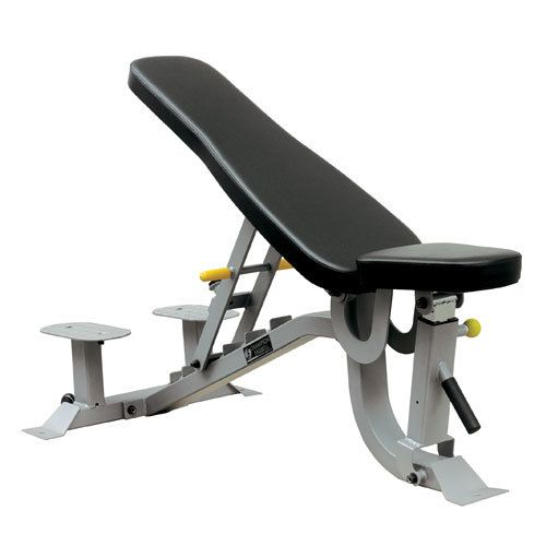 This Multibench and Spotters Stand has seven adjustments in 10 degree increments making it perfect for #building #strength and increasing torque and resistance. Because it can flatten, it is also perfect for both the beginner and the advanced strength #training! This multi bench comes without a spotters platform and can be combined with Smith Machines, Crossovers, Power racks or used free-stand with #dumbbells.