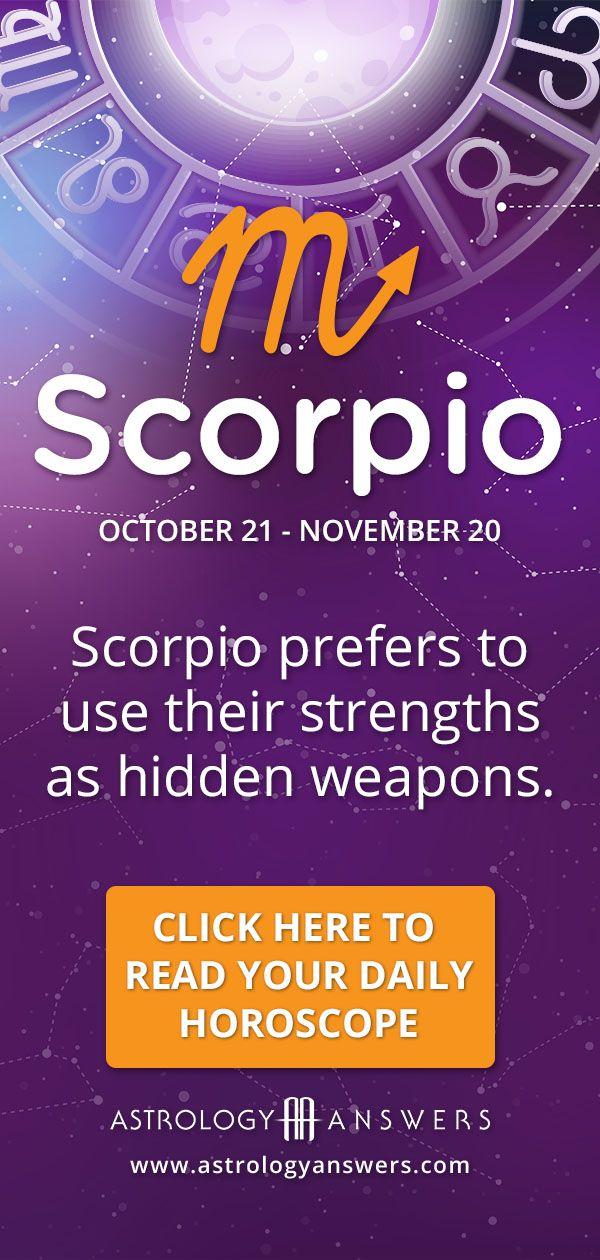 Scorpio keeps their dominant traits as ammunition like