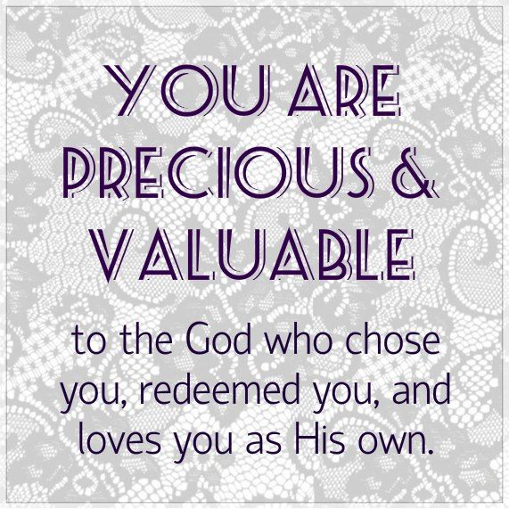 17 Best images about I am very valuable to God. on ...