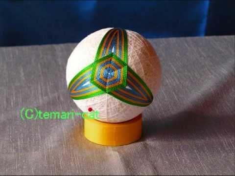 Temari thread ball making tutorials