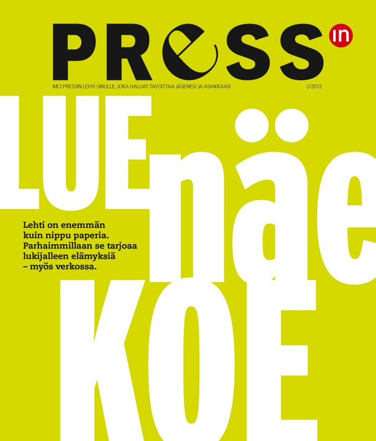 Pressin 2/2012  http://issuu.com/pressin/docs/pressin0212?mode=window=false