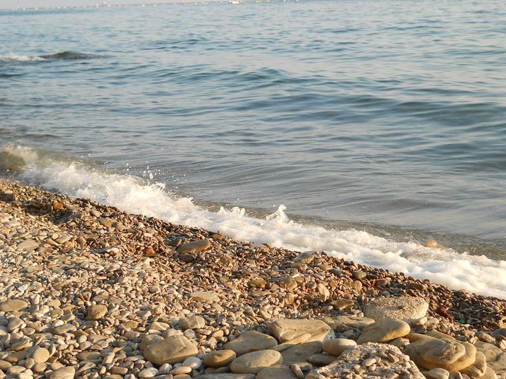 Wonderful Beach near Trieste, Italy