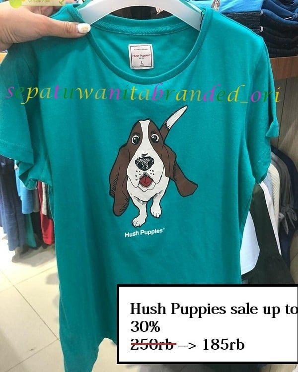 Hush Puppies Terbuat Dari Bahan Yang Adem Dan Menyerap Keringat