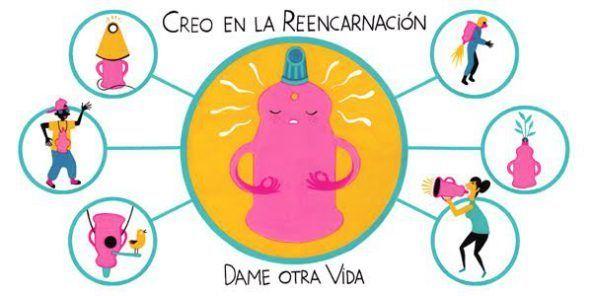 Creo En La Reencarnacion De La Basura Reencarnacion Crear Ilustraciones