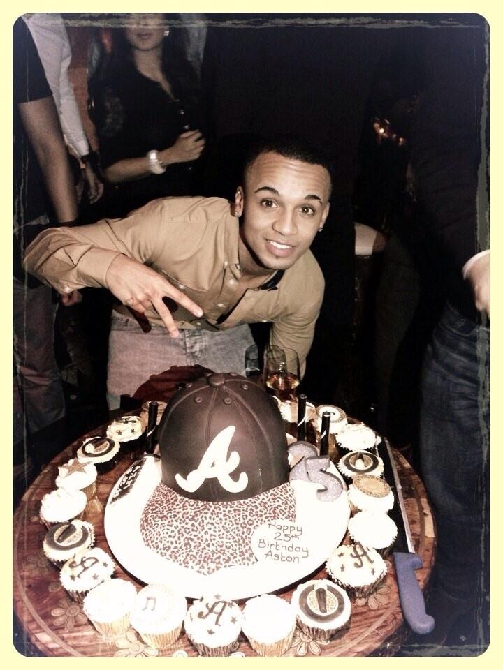 JLS Aston Merrygold Birthday Cake