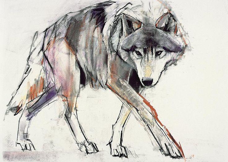 Wolf Painting on Fine Art America