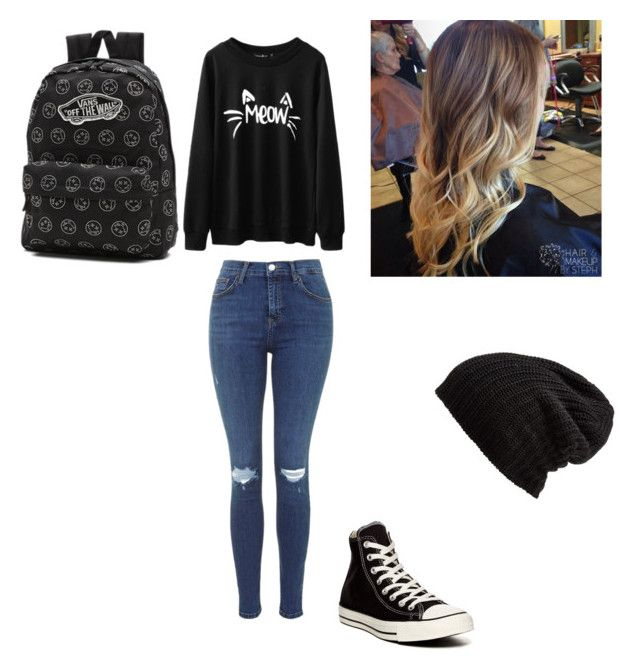 """""""Untitled #3"""" by xoxocloe ❤ liked on Polyvore featuring Converse, Vans and Free People"""