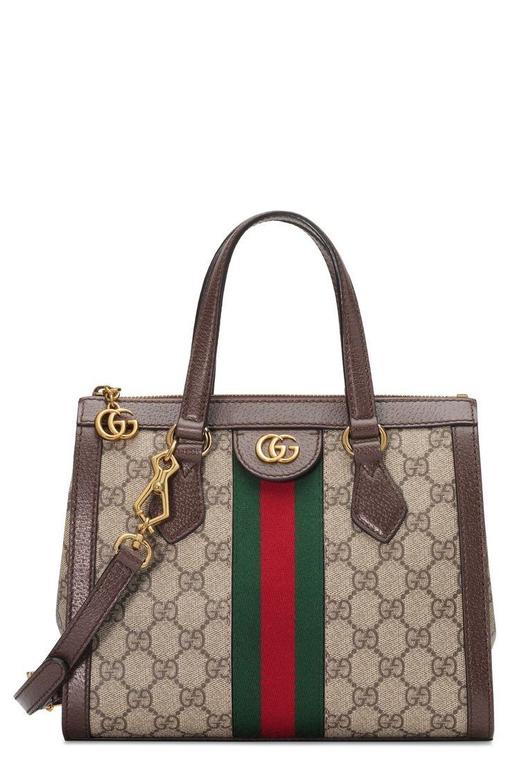 Gucci Small Canvas Satchel Beige in 2020 Trendy purses