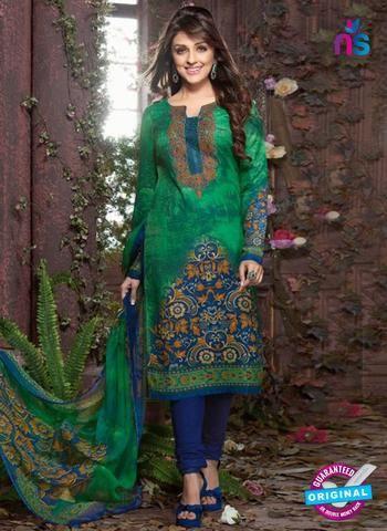 Buy Rakhi 8015 B Green Mattee Pashmina Winter Suit online at Newshop.in.    #designerpatialasuits #latestpatialasuits #green #newshop