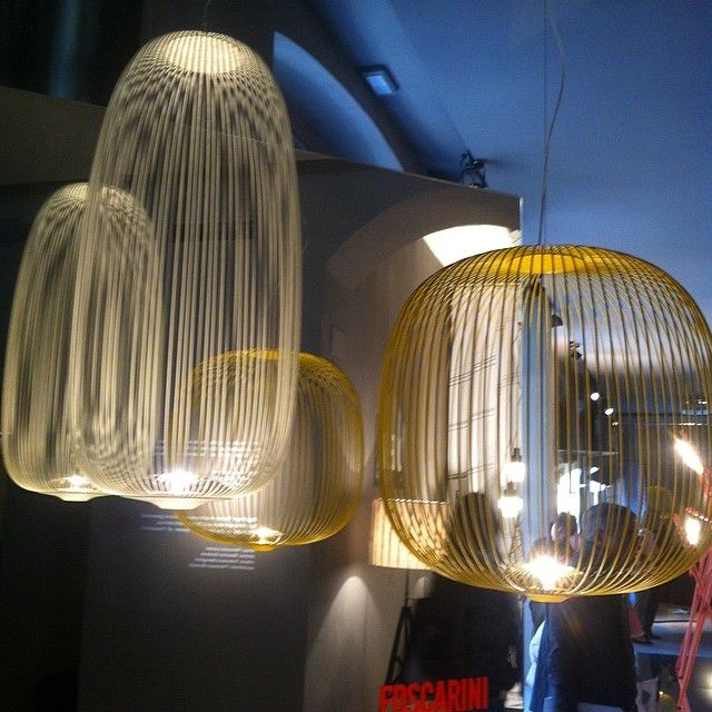 foscarini spokes at fuorisalone mdw14 design light. Black Bedroom Furniture Sets. Home Design Ideas