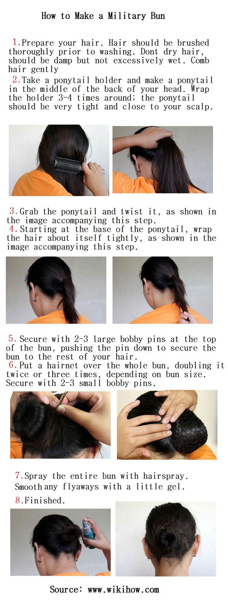 How to Make a Military Bun
