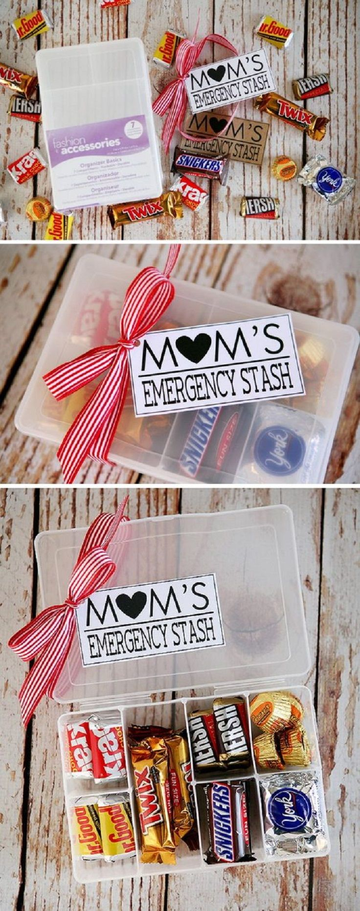 Mom's Emergency Stash - 16 Caring DIY Mother's Day Gifts To Celebrate Mom on Her Special Day #mothersday #mothersdaygift #giftideas #diygifts #diy #crafts #gift