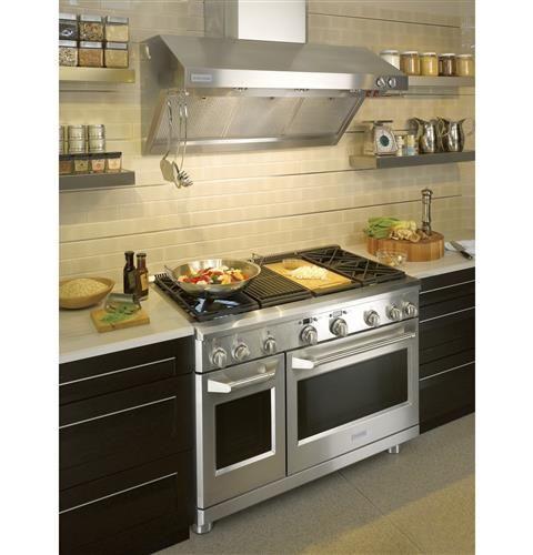 ZV48RSFSS - Monogram 48″ Stainless Steel Professional Hood | Monogram Appliances